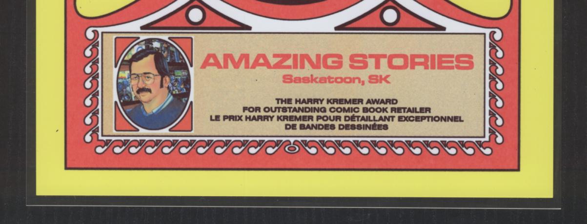 2015 Harry Kremer Award Winner: Amazing Stories, Saskatoon SK