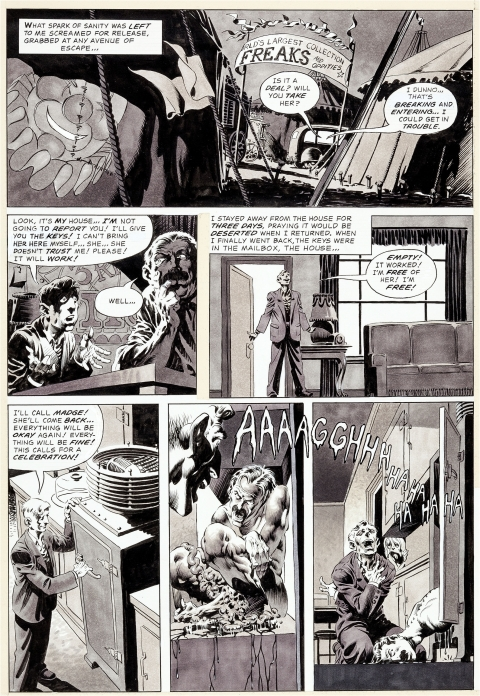 Creepy issue 63 page 7 by Bernie Wrightson. Source.