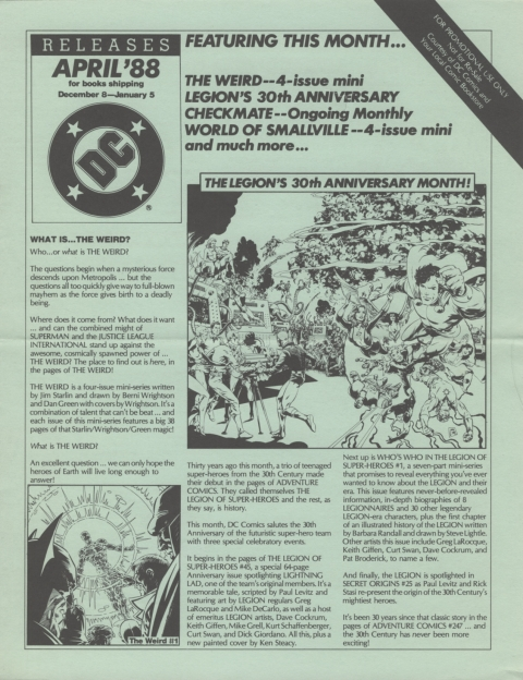 DC Releases April 88 page 1