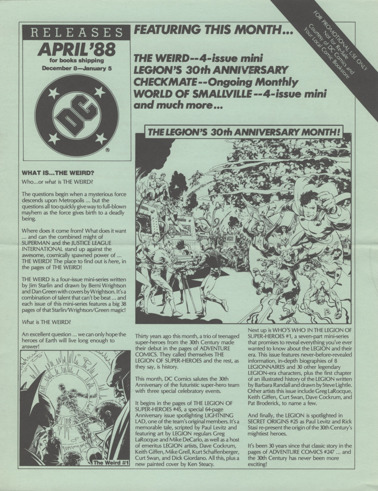 Time Capsule: DC Releases April '88