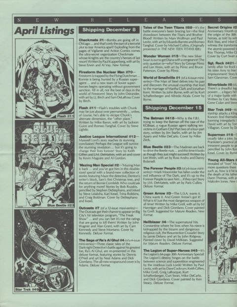 DC Releases April 88 page 2