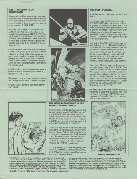 DC Releases April 88 page 4