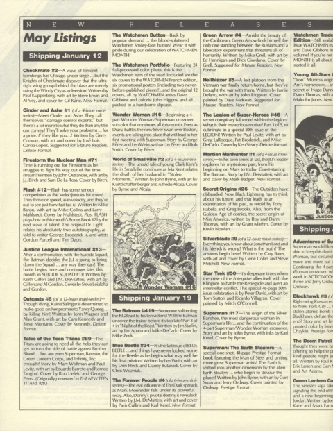 DC Releases May 88 Page 2