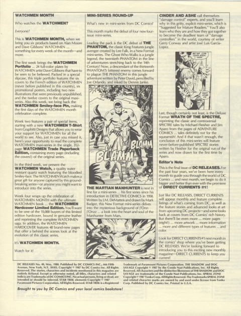DC Releases May 88 Page 4