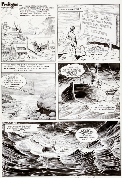 Eerie issue 58 page 23 by Bernie Wrightson. Source.