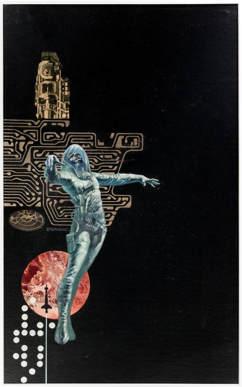 Infinity One cover by Jim Steranko. Source.