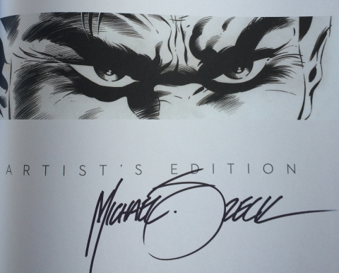 Mike Zeck's signature