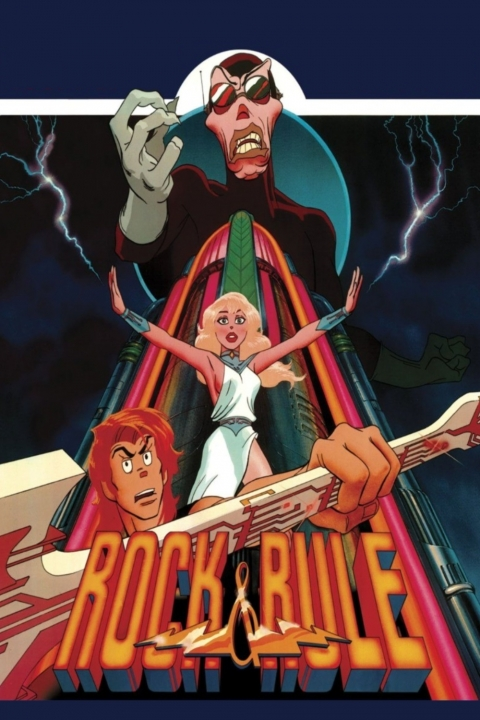 "Nelvana cult classic ""Rock & Rule"" 1983"