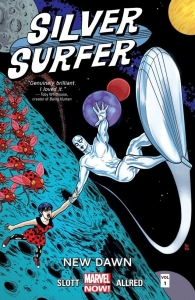 Silver Surfer Vol 1 cover