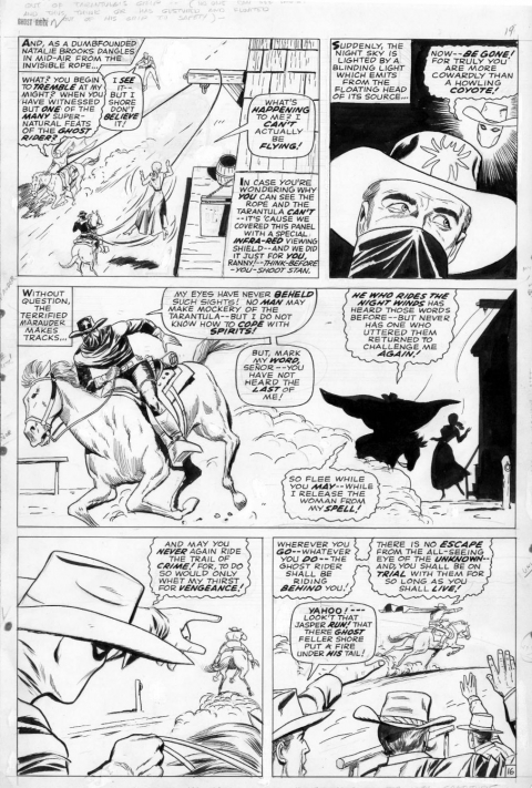 The Ghost Rider issue 2 page 16 by Dick Ayers and Vince Colletta.  Source.