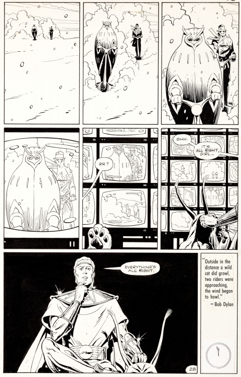 Watchmen issue 10 page 28 by Dave Gibbons.  Source.