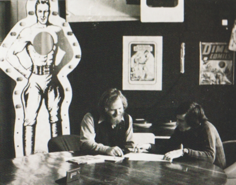 Nelvana King St. Studio c. 1972