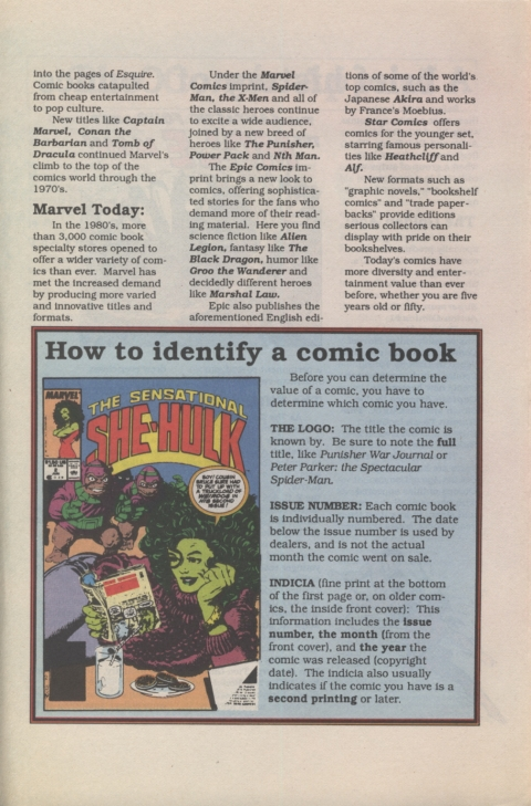 All About Collecting Comic Books Page 4