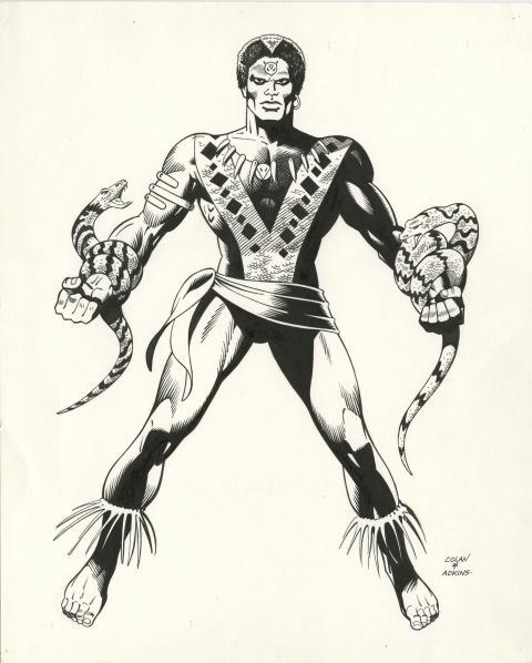 Brother Voodoo by Dan Adkins