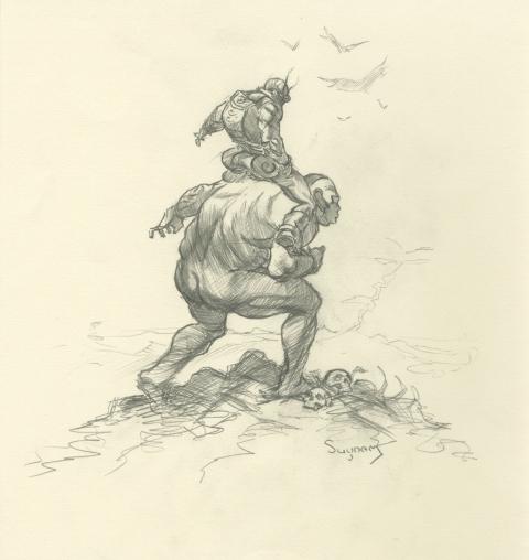 Cholly and Flytrap by Arthur Suydam
