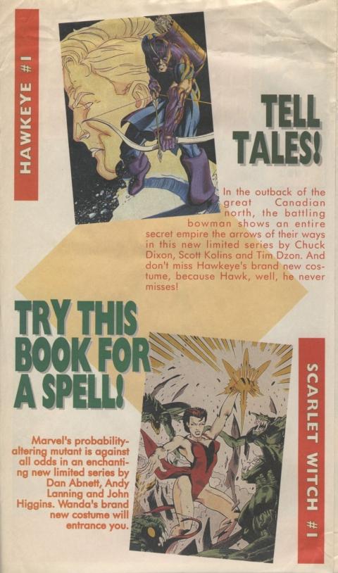 Marvel Spotlight November 1993 Page 2