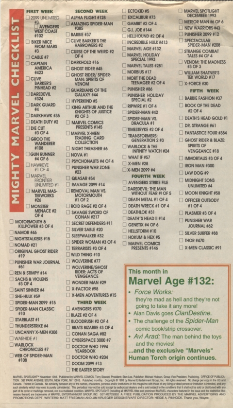 Marvel Spotlight November 1993 Page 8