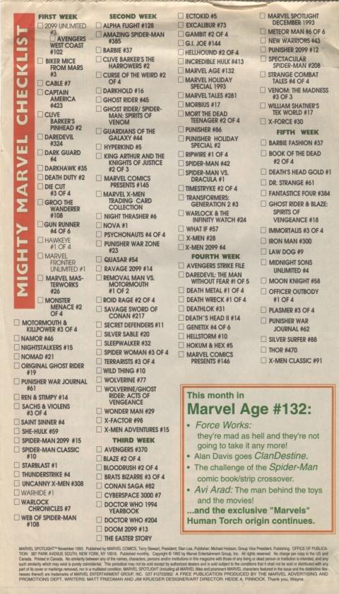 Marvel Spotlight November 1993 Page 8