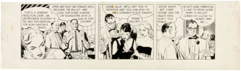 Rip Kirby Daily 09-09-1958 by John Prentice