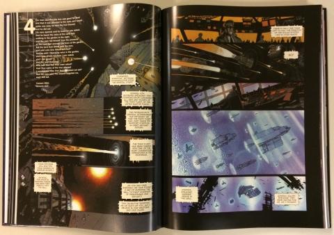 Universal War One interior 1