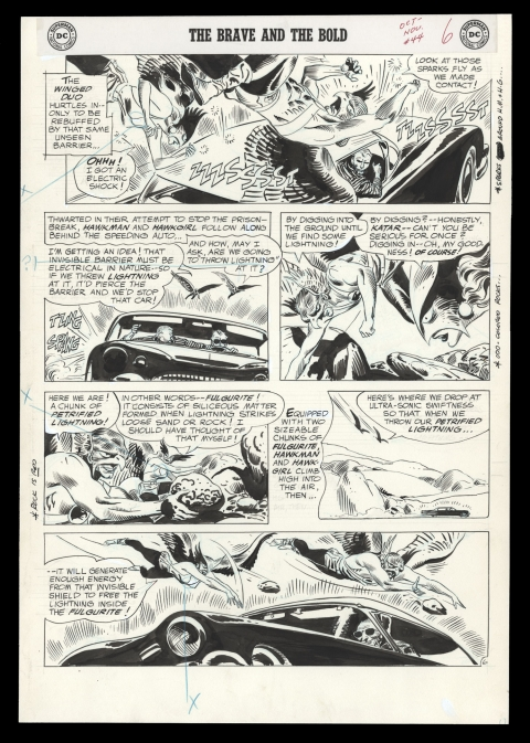 Brave And The Bold issue 44 page 6 by Joe Kubert