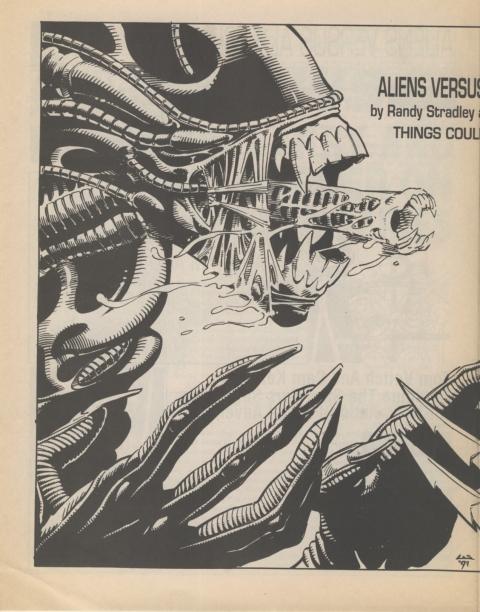 Dark Horse Insider December 1991 page 4