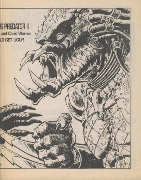 Dark Horse Insider December 1991 page 5