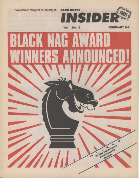 Dark Horse Insider February 1991 Page 1