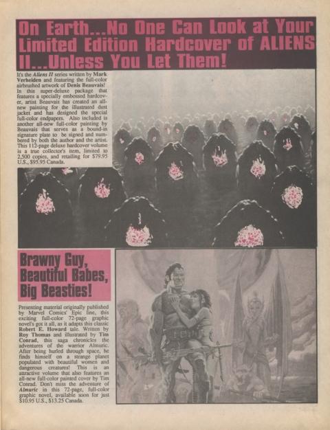 Dark Horse Insider January 1991 Page 3