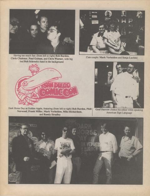 Dark Horse Insider January 1991 Page 5
