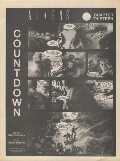 Dark Horse Insider October 1991 page 7