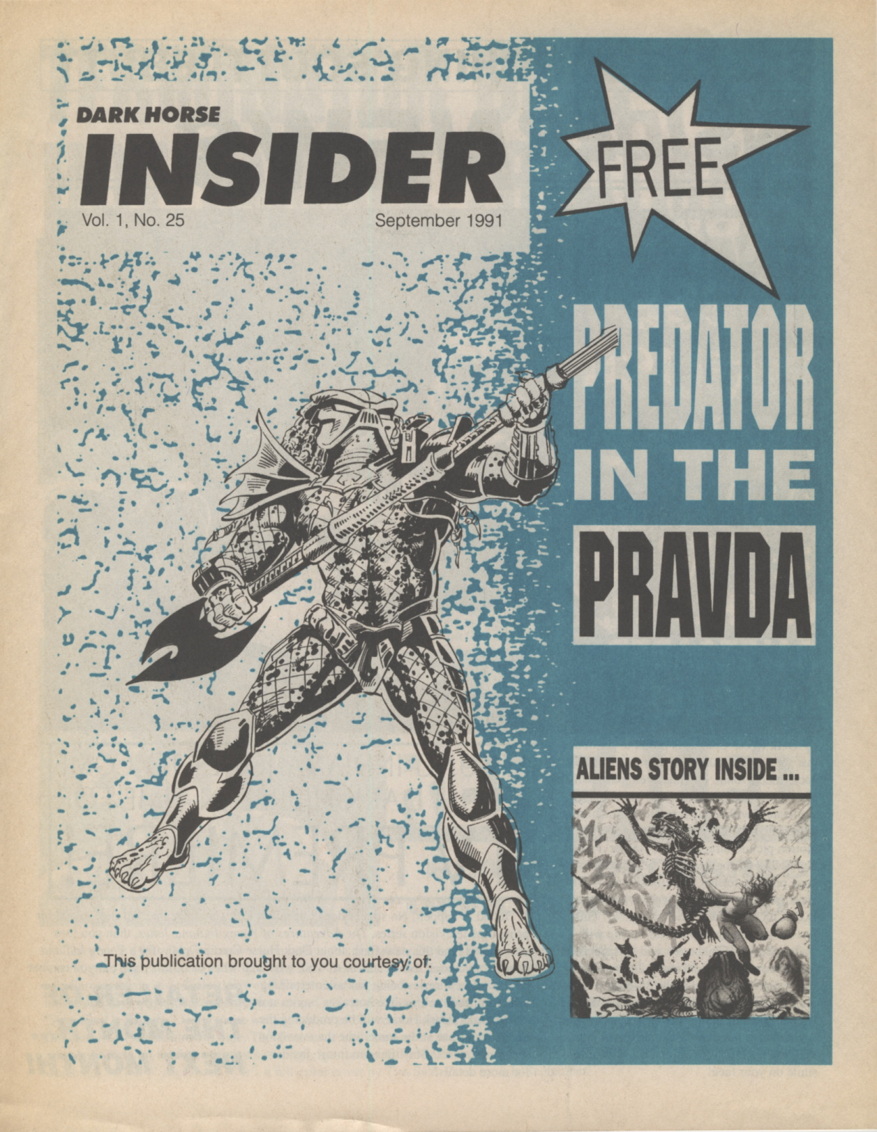 Time Capsule: Dark Horse Insider September 1991