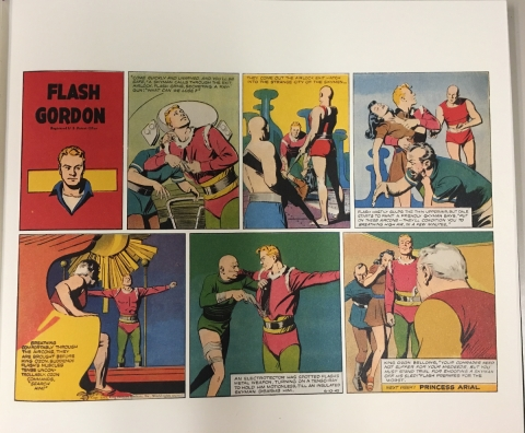 Flash Gordon Storm Queen Of Valkir interior 3