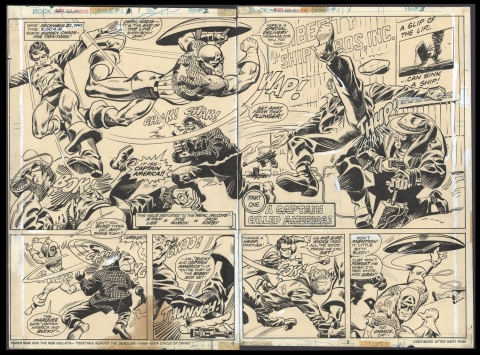 Giant-Size Invaders issue 1 pages 2-3 by Frank Robbins and Vince Colletta