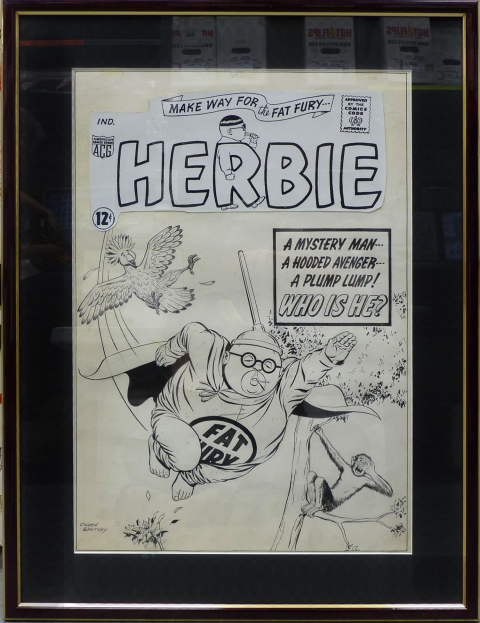 Herbie issue 8 cover by Ogden Whitney