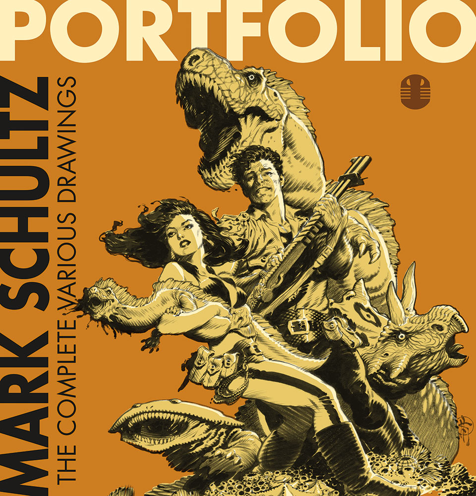 Mark Schultz: Portfolio, The Complete Various Drawings
