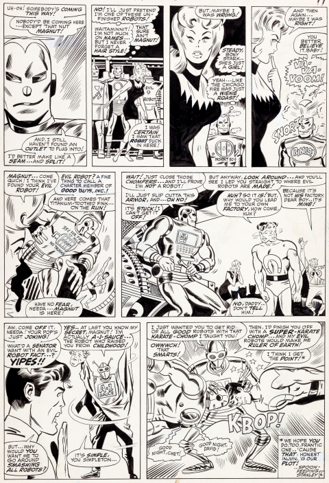 Not Brand Echh issue 2 page 6 by Don Heck and Dan Adkins.  Source.