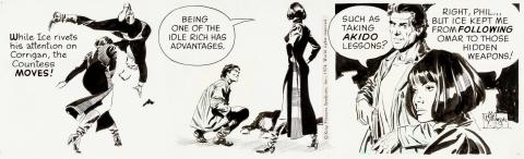 Secret Agent Corrigan Daily 1-23-1974 by Al Williamson.  Source.