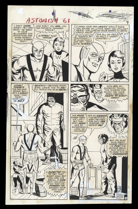 Tales To Astonish issue 61 page 9 by Steve Ditko and George Roussos