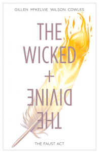 The Wicked + The Divine Vol 1 cover