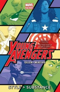 Young Avengers Vol 1 cover