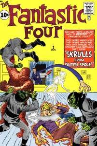 fantastic four 2 cover