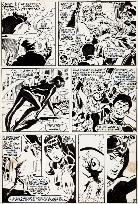 Amazing Adventures issue 6 page 9 by Don Heck and Sal Buscema.  Source.
