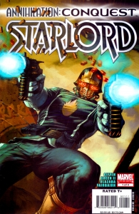 Annihilation Conquest-Starlord 1 cover