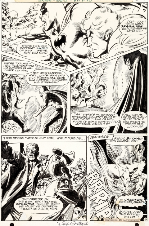 Brave And The Bold issue 80 page 13 by Neal Adams and Dick Giordano.  Source.