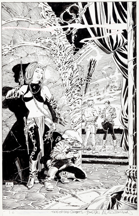 Classic Star Wars issue 7 cover by Al Williamson.  Source.