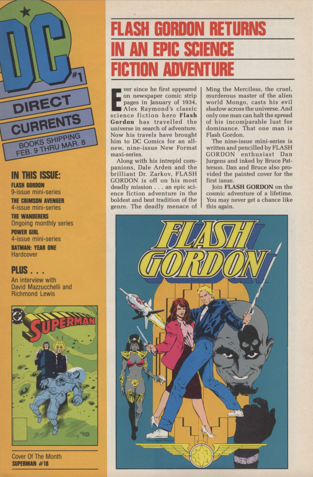 Time Capsule: DC Direct Currents 1, January 1988
