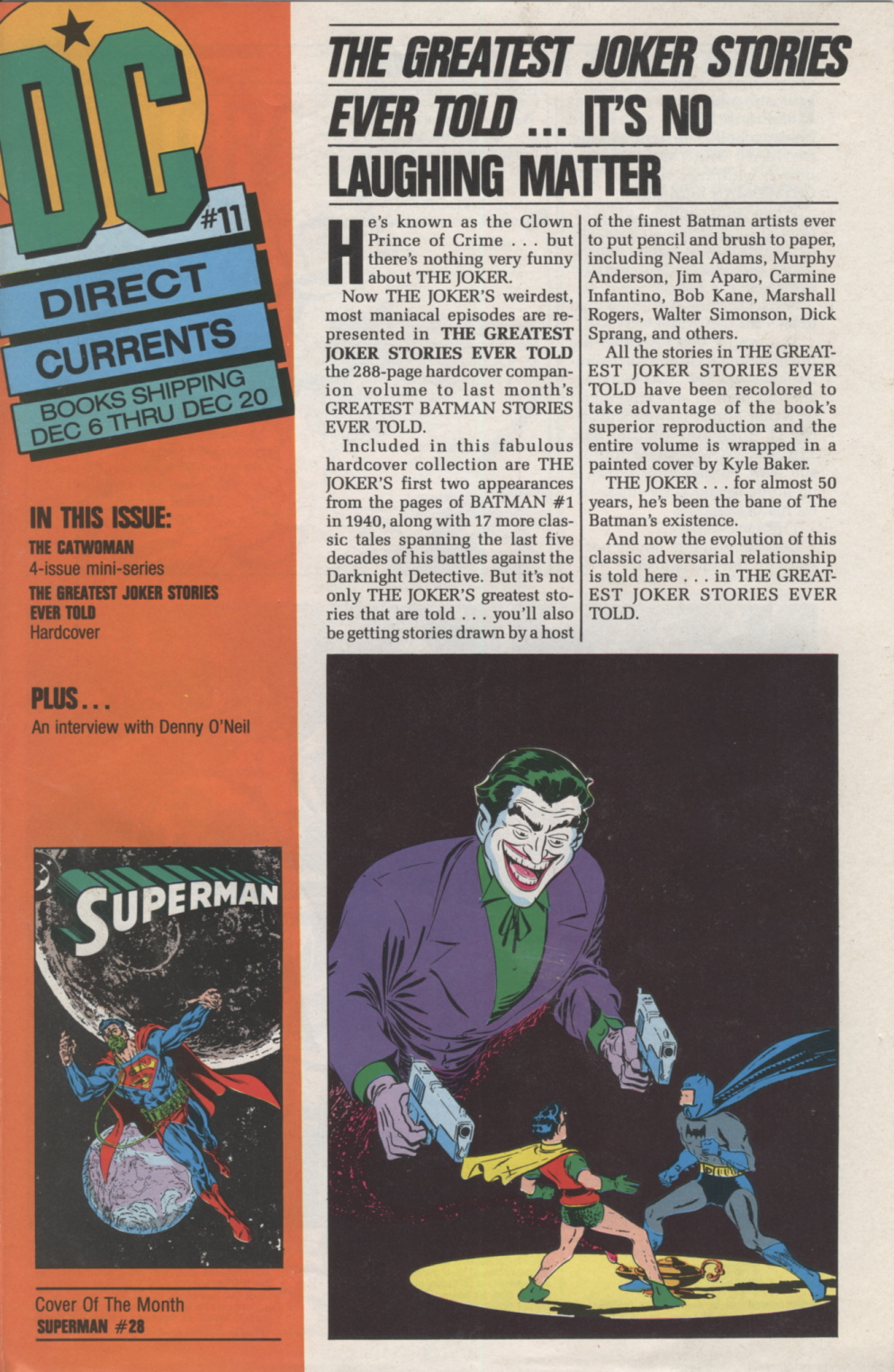 Time Capsule: DC Direct Currents 11, November 1988