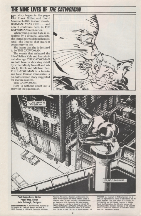 DC Direct Currents 11 November 1988 Page 2