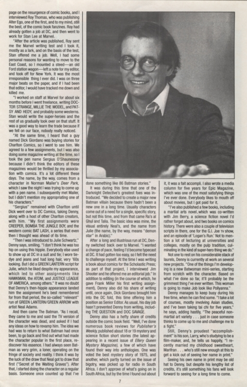 DC Direct Currents 11 November 1988 Page 7